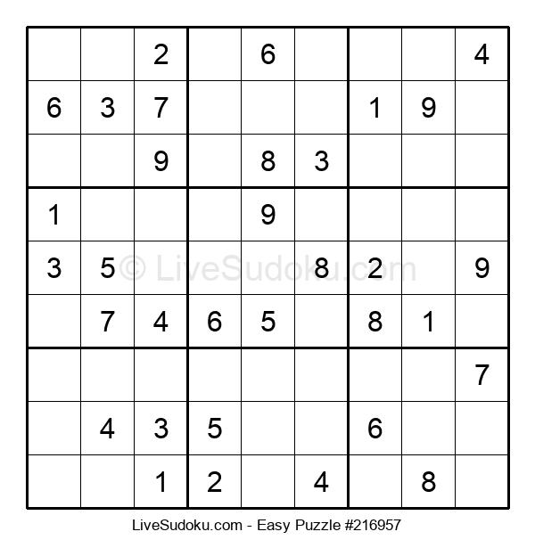 Beginners Puzzle #216957