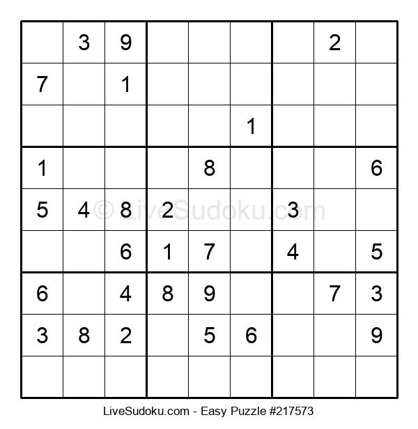Beginners Puzzle #217573