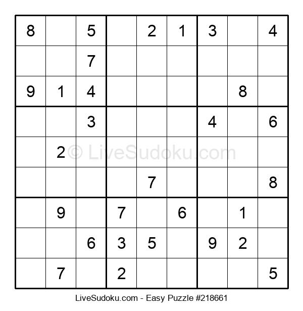 Beginners Puzzle #218661