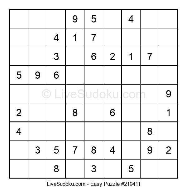 Beginners Puzzle #219411