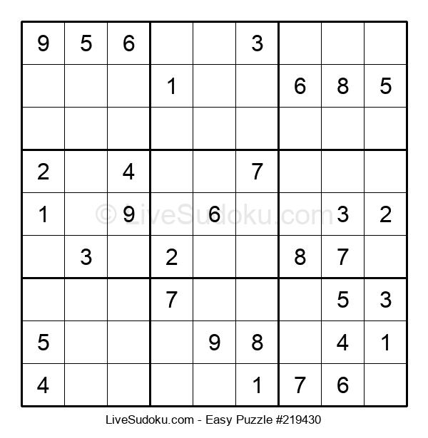 Beginners Puzzle #219430