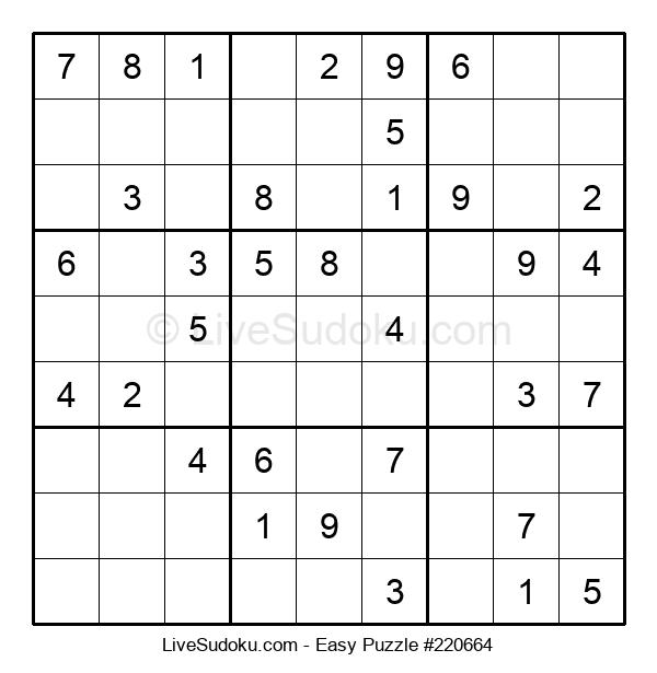 Beginners Puzzle #220664