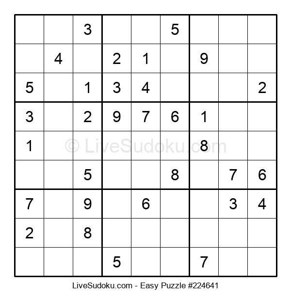 Beginners Puzzle #224641
