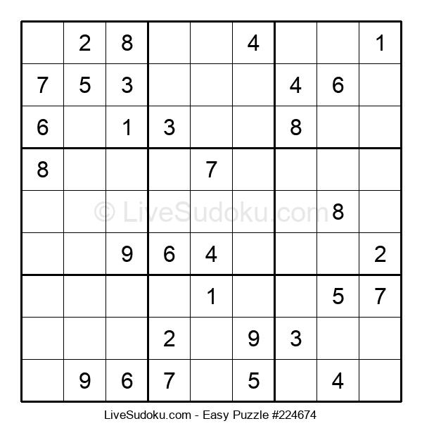 Beginners Puzzle #224674