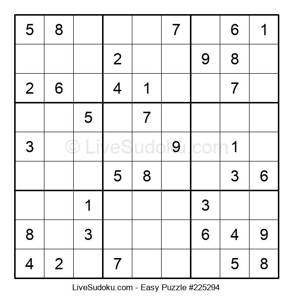 Beginners Puzzle #225294