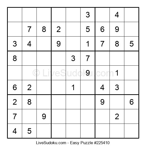 Beginners Puzzle #225410