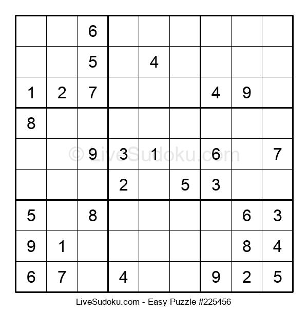 Beginners Puzzle #225456