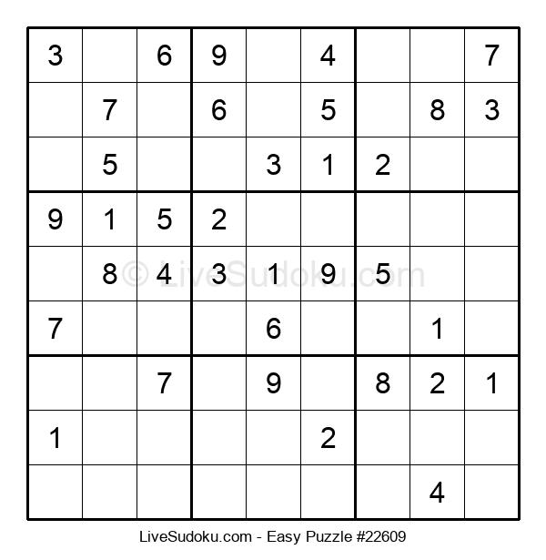 Beginners Puzzle #22609