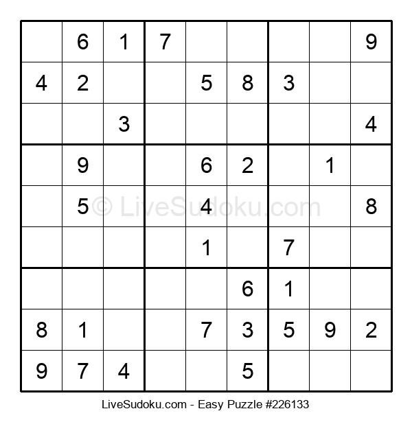 Beginners Puzzle #226133