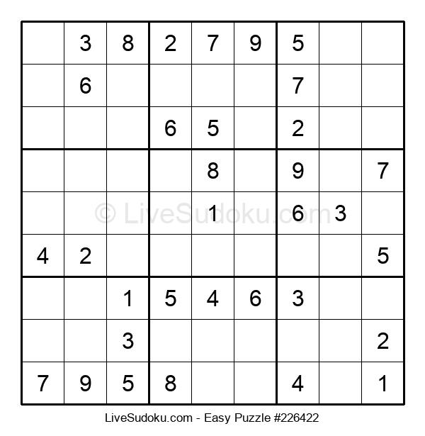 Beginners Puzzle #226422
