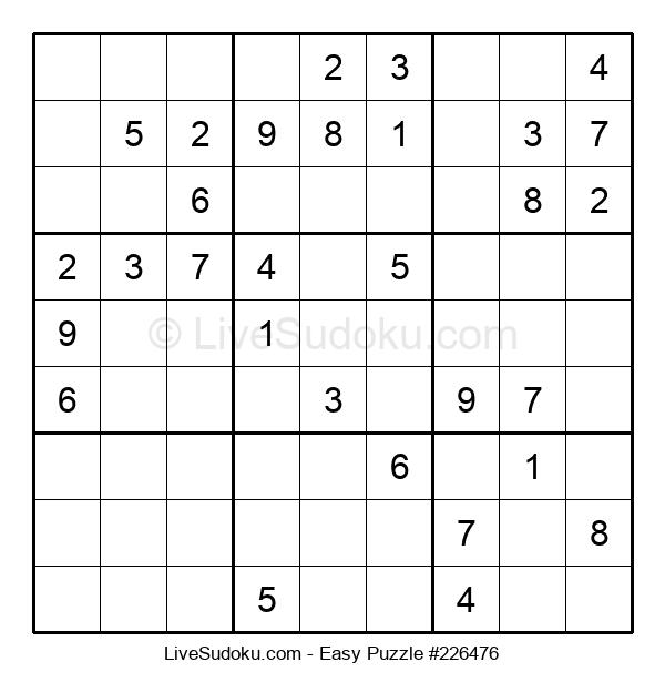 Beginners Puzzle #226476