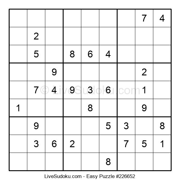 Beginners Puzzle #226652