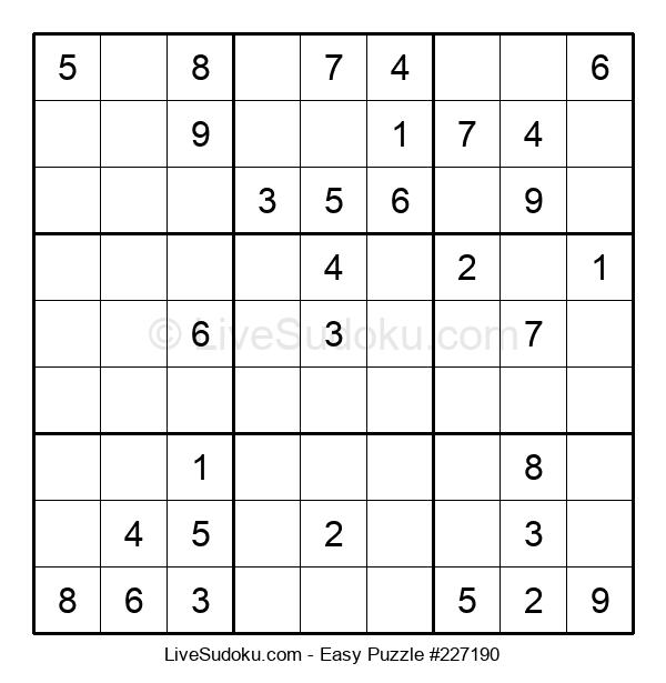Beginners Puzzle #227190