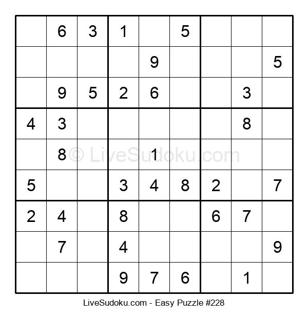 Beginners Puzzle #228