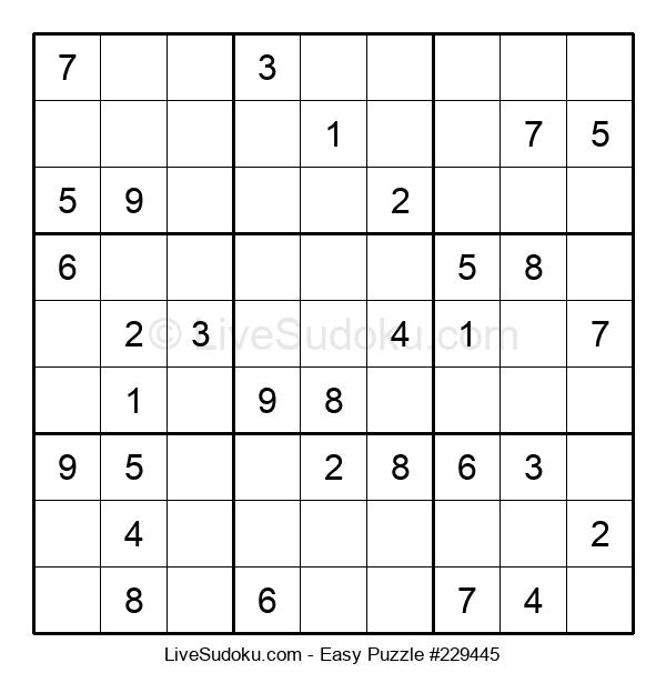 Beginners Puzzle #229445