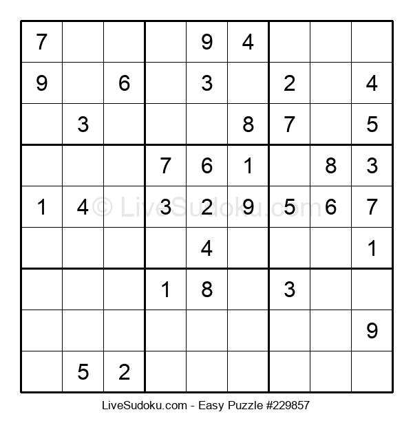 Beginners Puzzle #229857