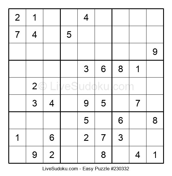 Beginners Puzzle #230332