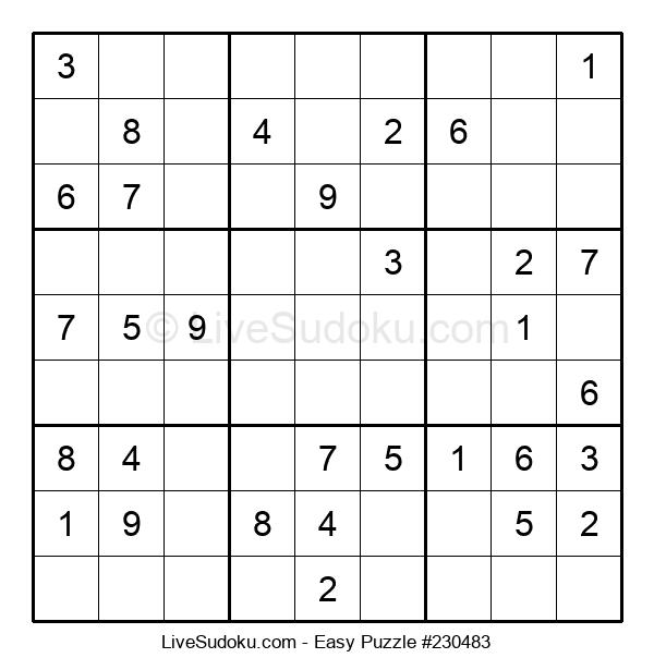 Beginners Puzzle #230483
