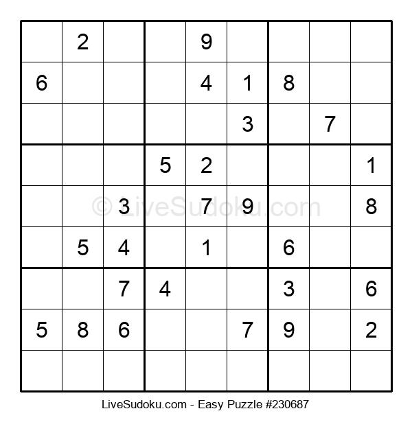 Beginners Puzzle #230687