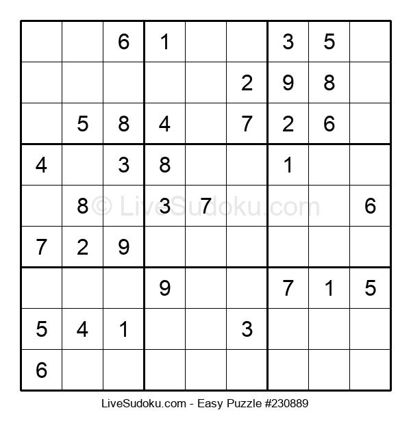 Beginners Puzzle #230889