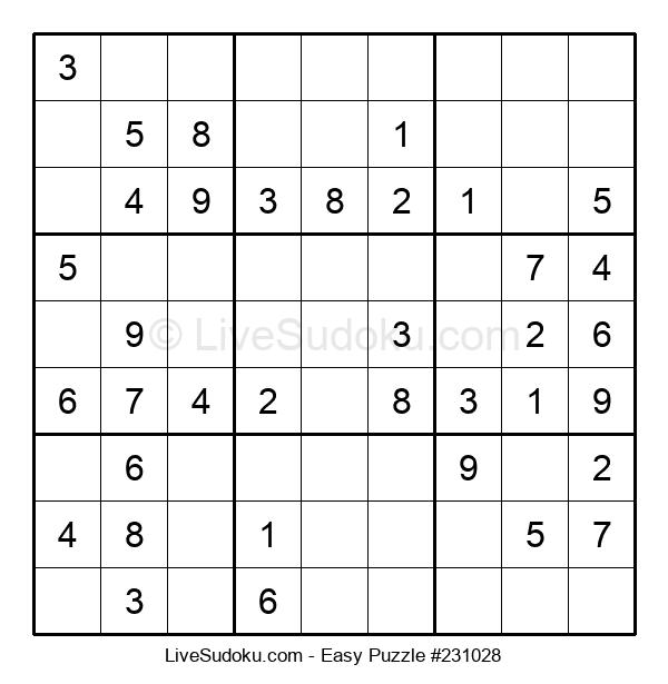 Beginners Puzzle #231028