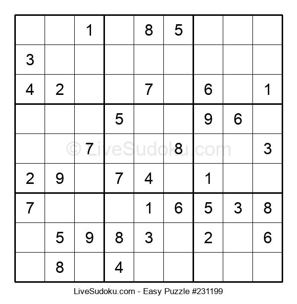 Beginners Puzzle #231199