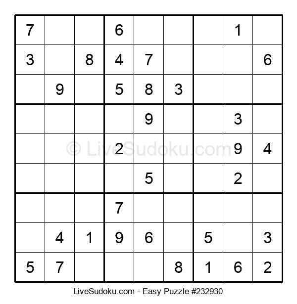 Beginners Puzzle #232930