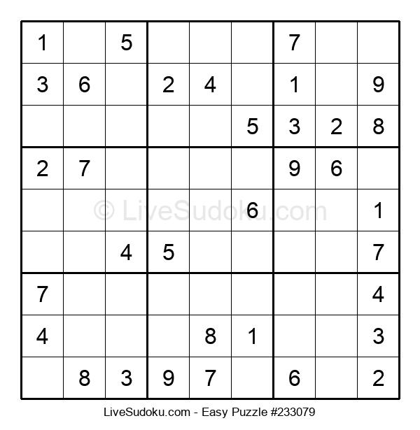 Beginners Puzzle #233079
