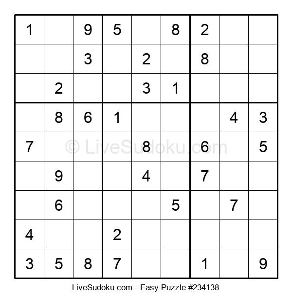 Beginners Puzzle #234138