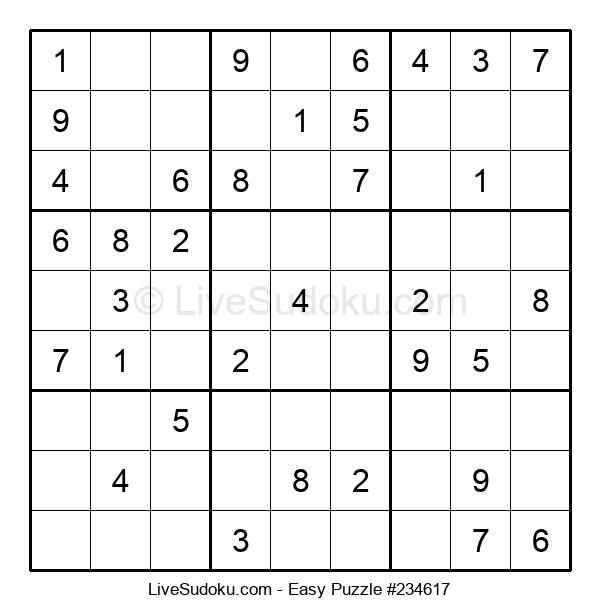Beginners Puzzle #234617