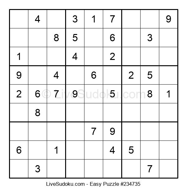 Beginners Puzzle #234735
