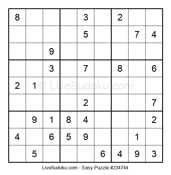Beginners Puzzle #234744