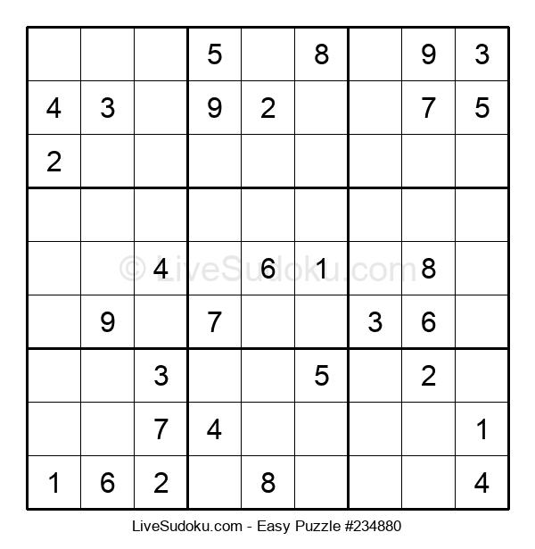 Beginners Puzzle #234880