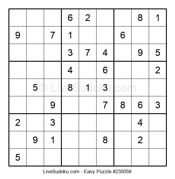 Beginners Puzzle #235059
