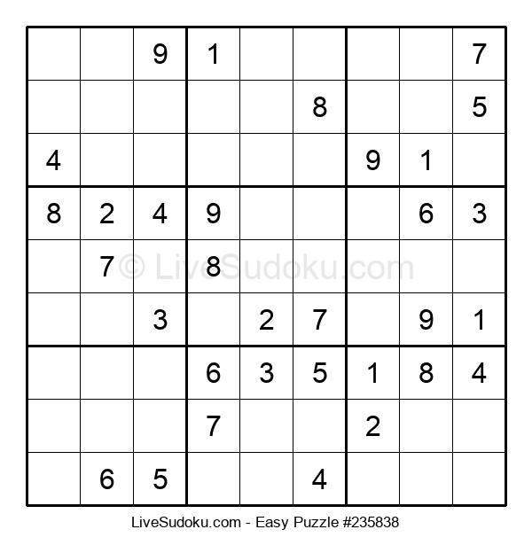 Beginners Puzzle #235838