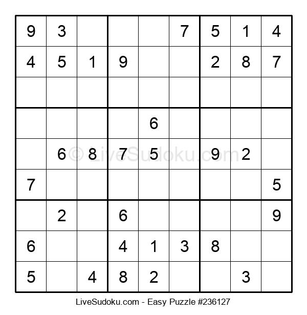 Beginners Puzzle #236127
