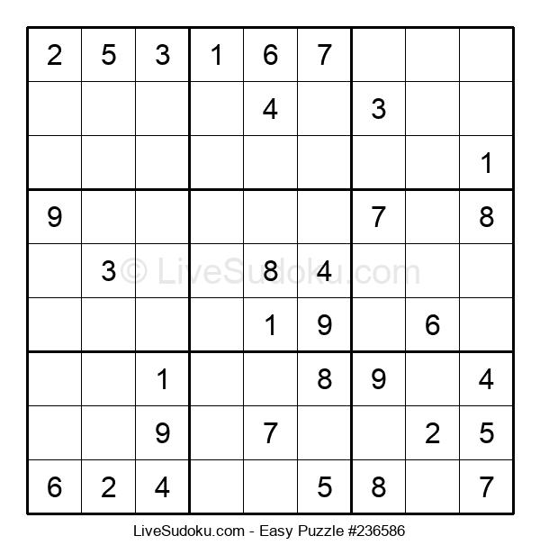 Beginners Puzzle #236586