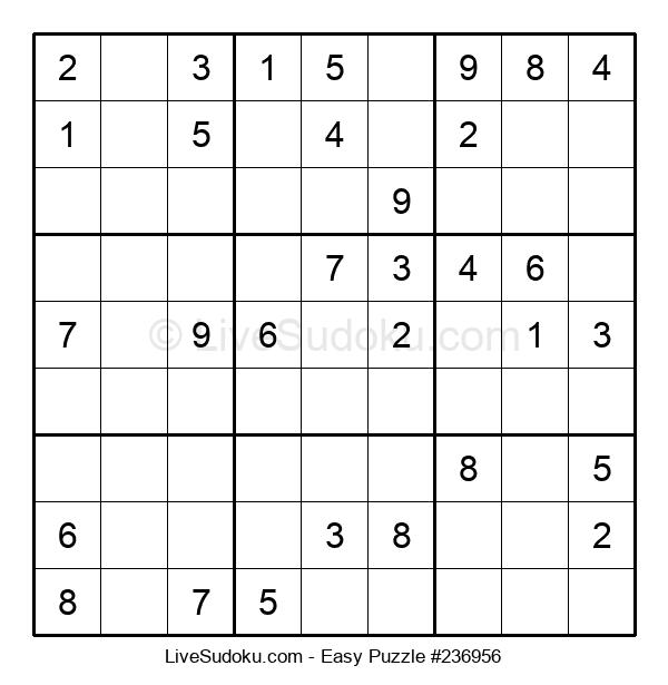 Beginners Puzzle #236956