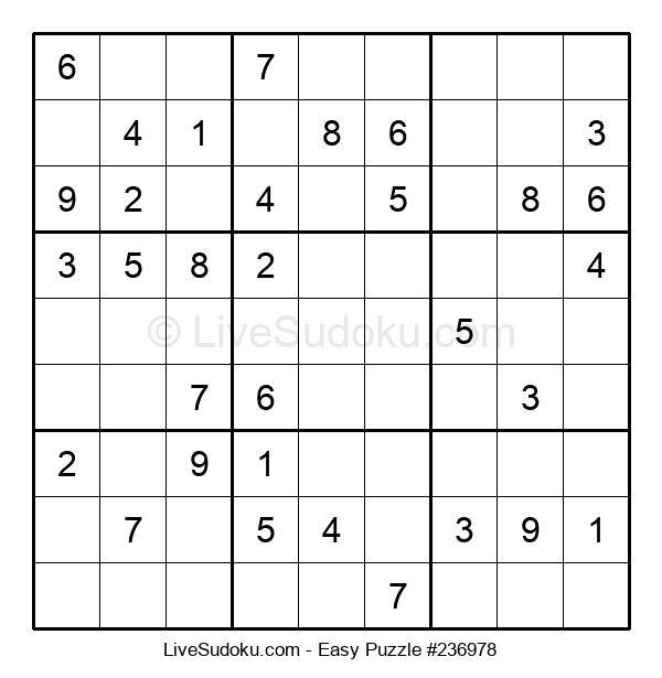 Beginners Puzzle #236978
