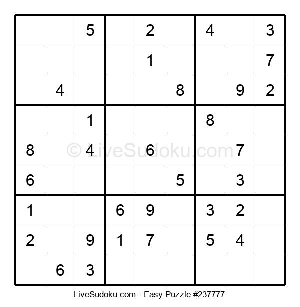 Beginners Puzzle #237777