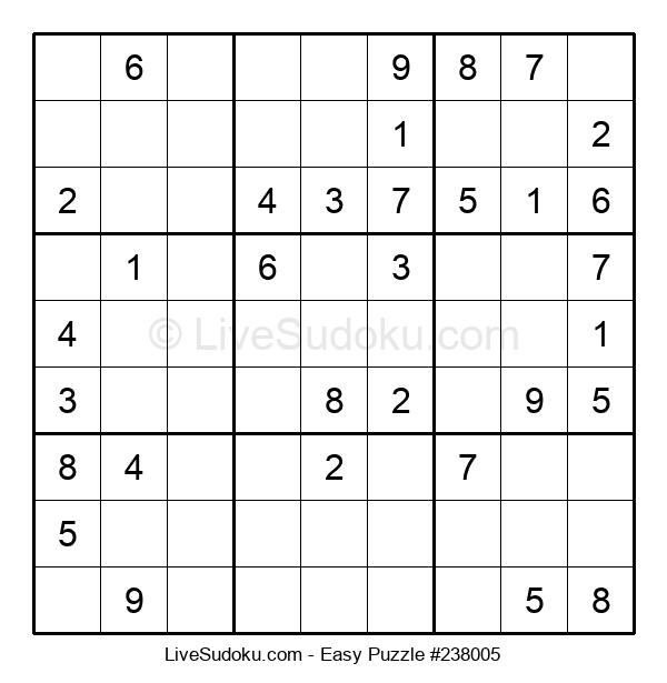 Beginners Puzzle #238005