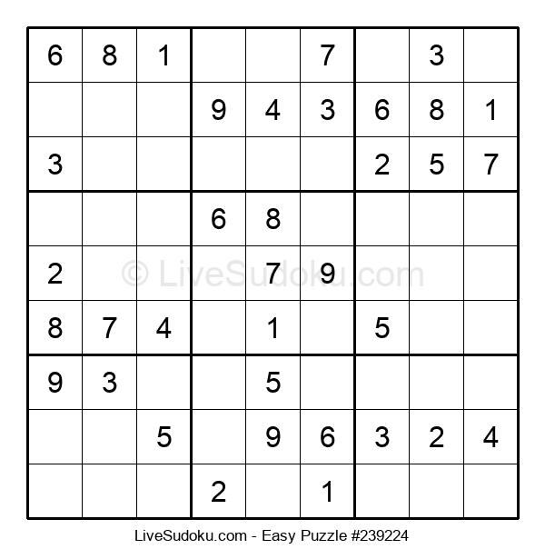 Beginners Puzzle #239224
