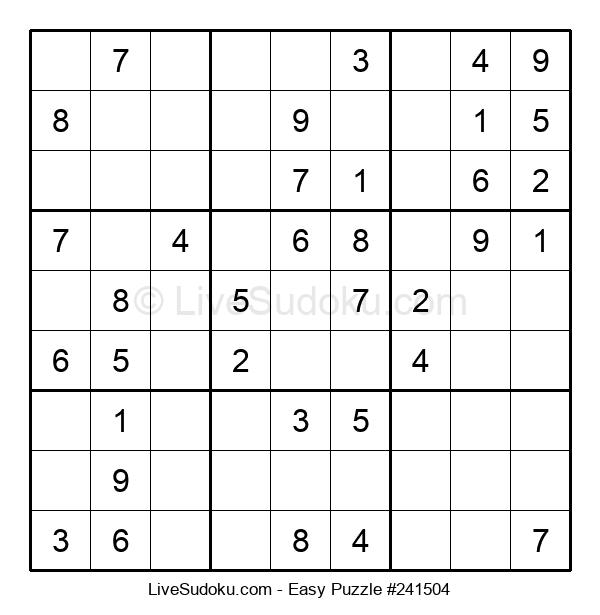 Beginners Puzzle #241504