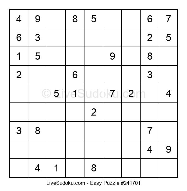 Beginners Puzzle #241701