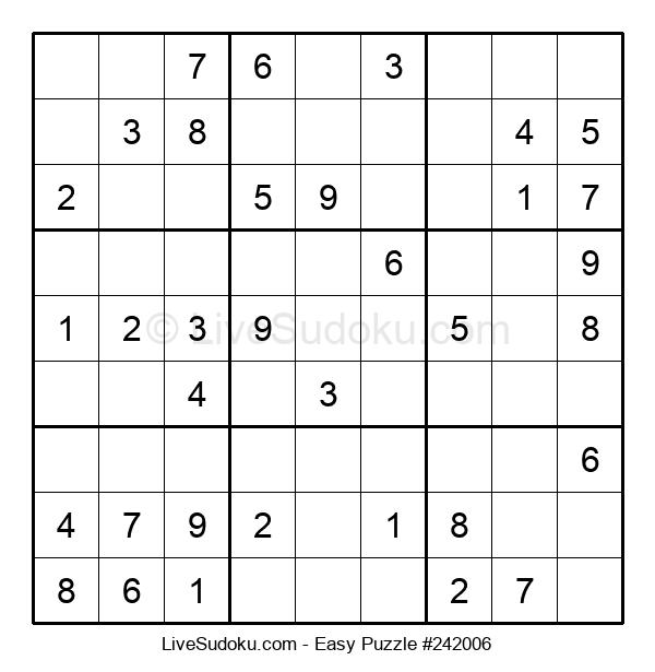 Beginners Puzzle #242006