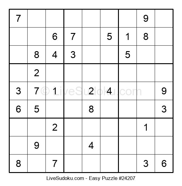 Beginners Puzzle #24207