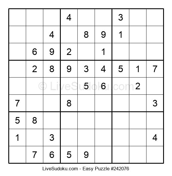 Beginners Puzzle #242076