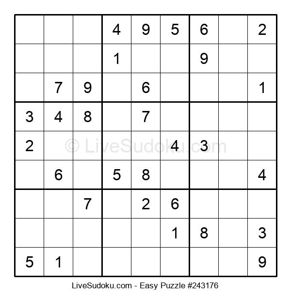 Beginners Puzzle #243176