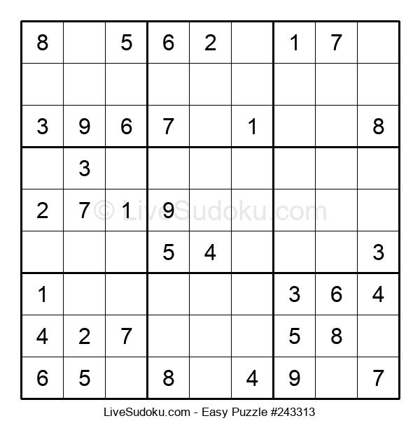 Beginners Puzzle #243313
