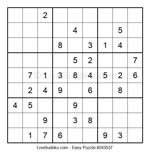 Beginners Puzzle #243537